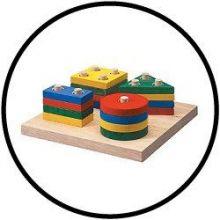 Geomatric sorting board