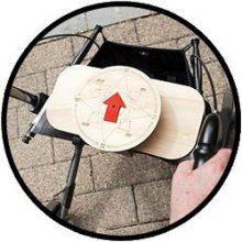 Kompasrollator - Nu met gratis WANDELANDERS