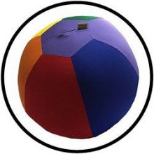 Ball jeans met ballon - 33 cm