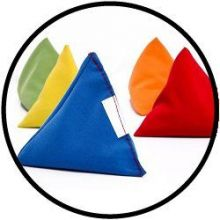 Pitzakjes Pyramide - zakje van 10