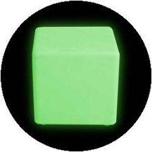 Snoezel meubelen - van kleur veranderende sfeer kubus, 40 cm