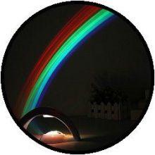 Regenboog lamp