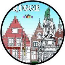Brugge - Antistress kleurboek