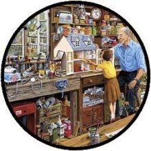 Puzzel - Grootvader's Werkplaats (40 stukjes)