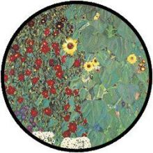 Klimt Garden with Sunflowers puzzel