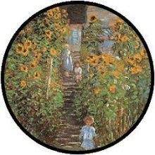 Monet Le Jardin a Vetheuil puzzel