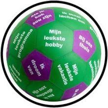 Speelbal Gespreksbal II - Met gratis opblaaspomp - ACTIE