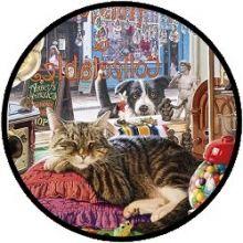 Puzzel - Slapende Kat in Antiekshop (1000)