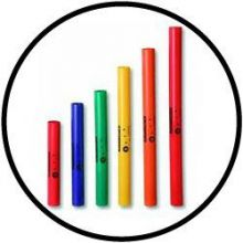 Boomwhackers set van 6 pentatonic