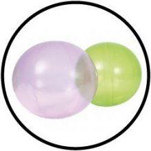 Vingerlichte ballen 25 cm