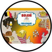 Kleurboek België A3