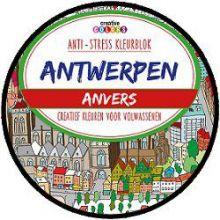 Antwerpen - Antistress kleurboek