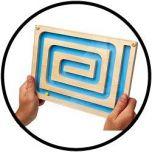 Spiraal labyrint - Spiral Maze