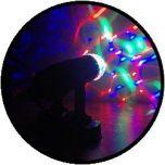 Lichtprojector van kleuren