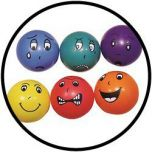 Ballen met emoties