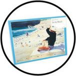 Puzzel - Op het Strand 24 stukjes