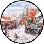 Puzzel - Sneeuw in de winter - 35 stukjes