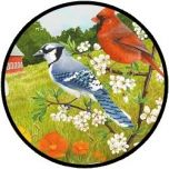 Puzzel - Vogeltjes in de zomer - 13 stukjes