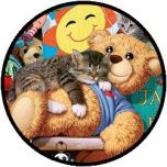 Puzzel - Kitten en de Beer (250 XL)