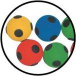 Klittenbandballen per 8