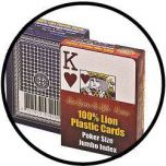 Poker Jumbo Index plastic